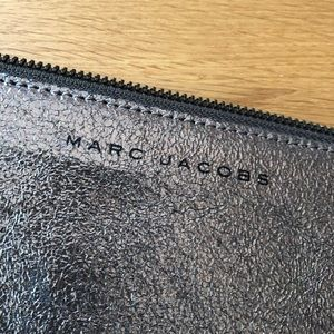 Marc Jacobs leather clutch
